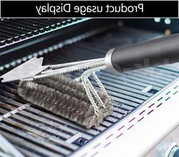 18'' BBQ Cleaning Brush Barbecue Grill Kitchen Cleaner Stain