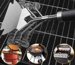 18 inch Stainless Steel Cleaner BBQ Brush Grill Wire Bristle