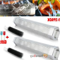Barbecue Smokehouse BBQ Smoker Tube Generator Grill Mesh for