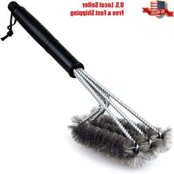 BBQ Grill Brush Barbecue Grate Cleaner Stainless Steel for R