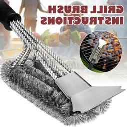 bbq grill brush scrubber barbecue cleaning tool