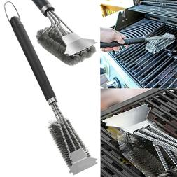 BBQ Grill Cleaning Brush for Barbecue Grate Stainless Steel