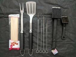 BBQ Tool Set Utensils Kit Accessories Barbecue Grill Fork Sp