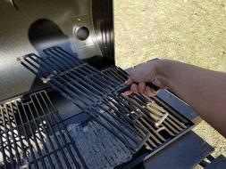 Cast Iron BBQ Universal Grid Grate Lifter Grill Parts Tools