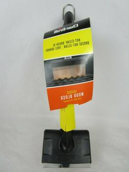 Char-Broil Wood Brush XL  Wood Block Grill Cleaner