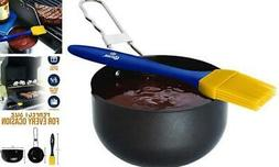 Corona BBQ Basting Brush for Grilling and Nonstick Coated Sa