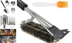 GAINWELL Combination Grill Brushes and Scrapers - Heavy Duty