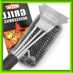 GRILLART Grill Brush and Scraper Best BBQ Brush for Gril Saf