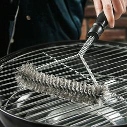 Kitchen Accessories BBQ Grill Kit Cleaning Brush Stainless S
