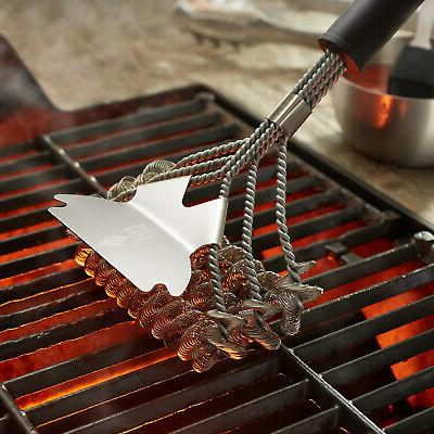 """18"""" Stainless Steel Bristle Free Grill"""