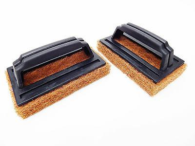 2 x barbeque bbq grill scrubbers cleaning