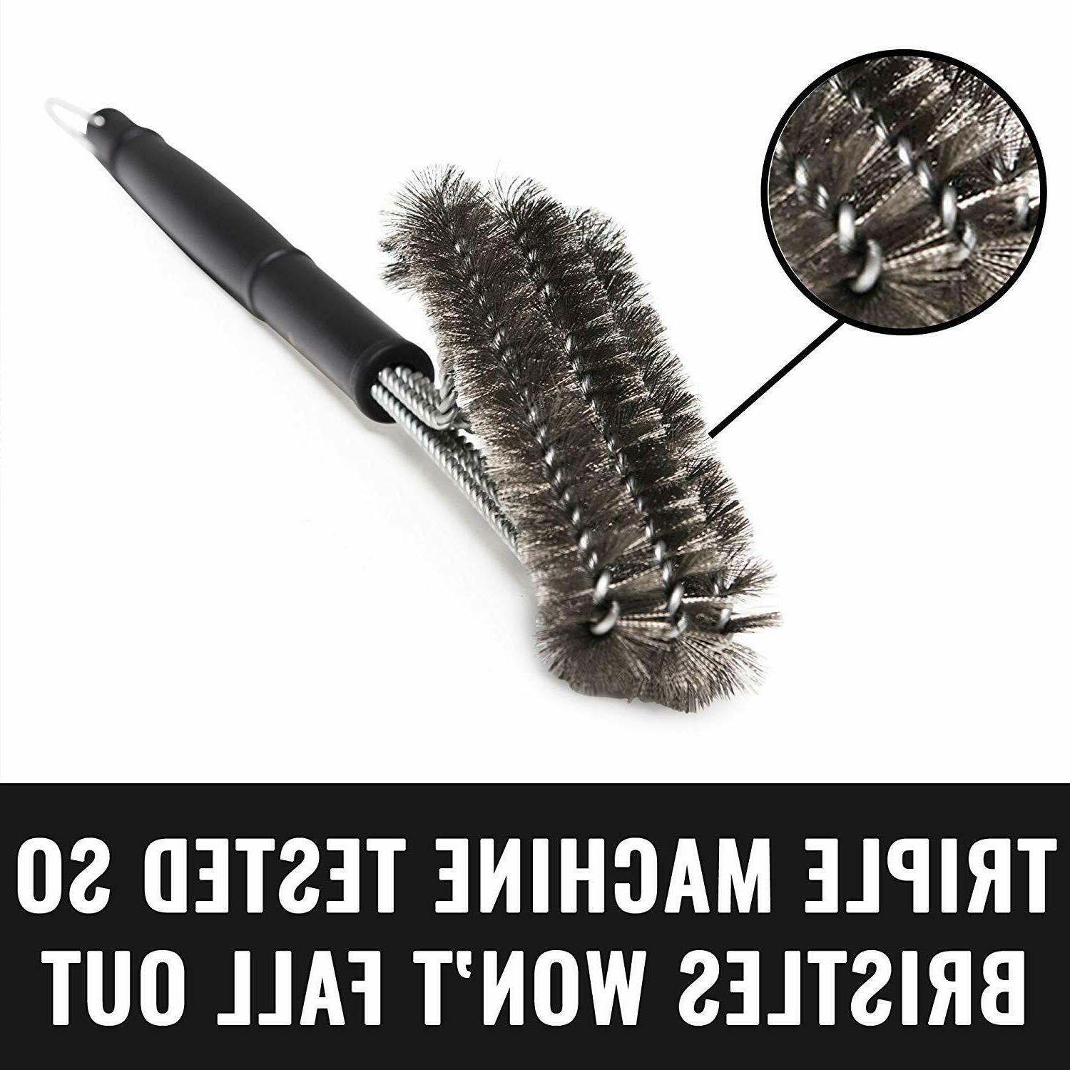 US Stainless BBQ Grill Cleaning Long Tool