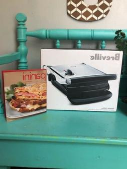 BREVILLE Panini Grill Press  Brushed Stainless Steel