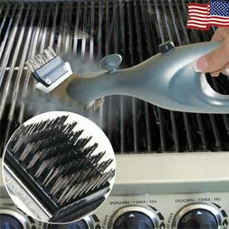 Steam BBQ Cleaning Grill Brush Stainless Steel Barbecue Clea